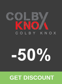 Save 50% at Colby Knox