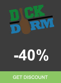 Save 40% Dick Dorm